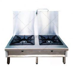 Bếp hầm đôi có thành