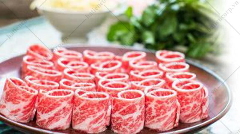 thực phẩm bảo quản tủ đông