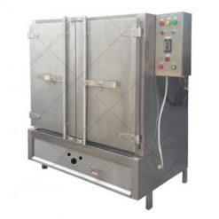 tủ nấu cơm 100kg bằng gas hoặc điện