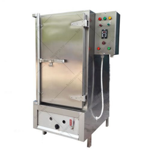 tủ nấu cơm 50kg bằng gas hoặc điện