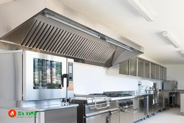 4 Tiêu chuẩn thiết kế bếp nhà hàng