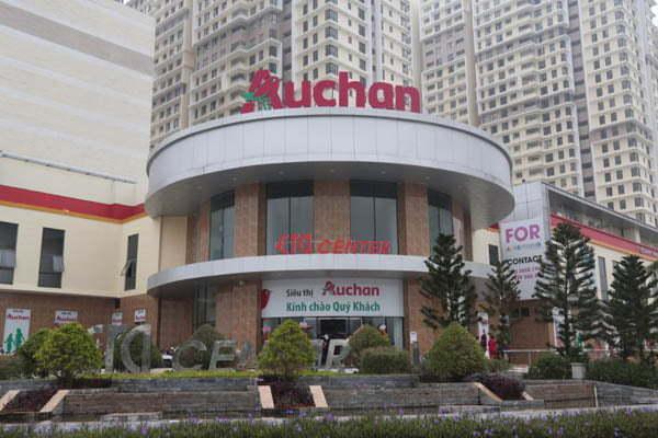 Bếp siêu thị Auchan Quận 7
