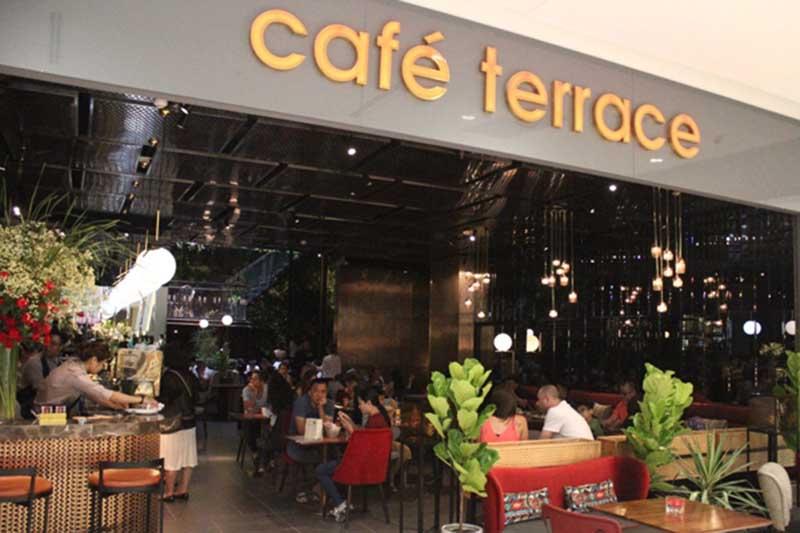 bếp nhà hàng Terrace