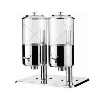 Bình đựng ngũ cốc 2 ngăn inox - BIAT90123-2