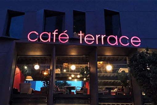 Bếp nhà hàng Terrace Quận 2