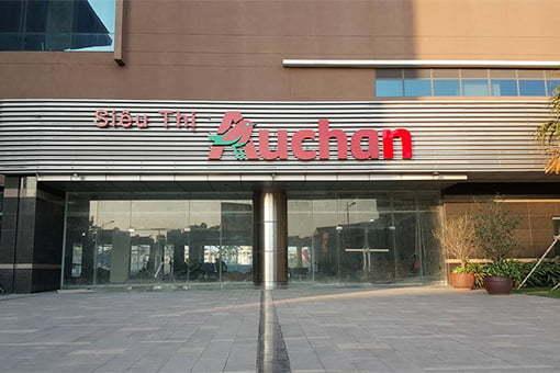 Bếp siêu thị Auchan Văn Phú