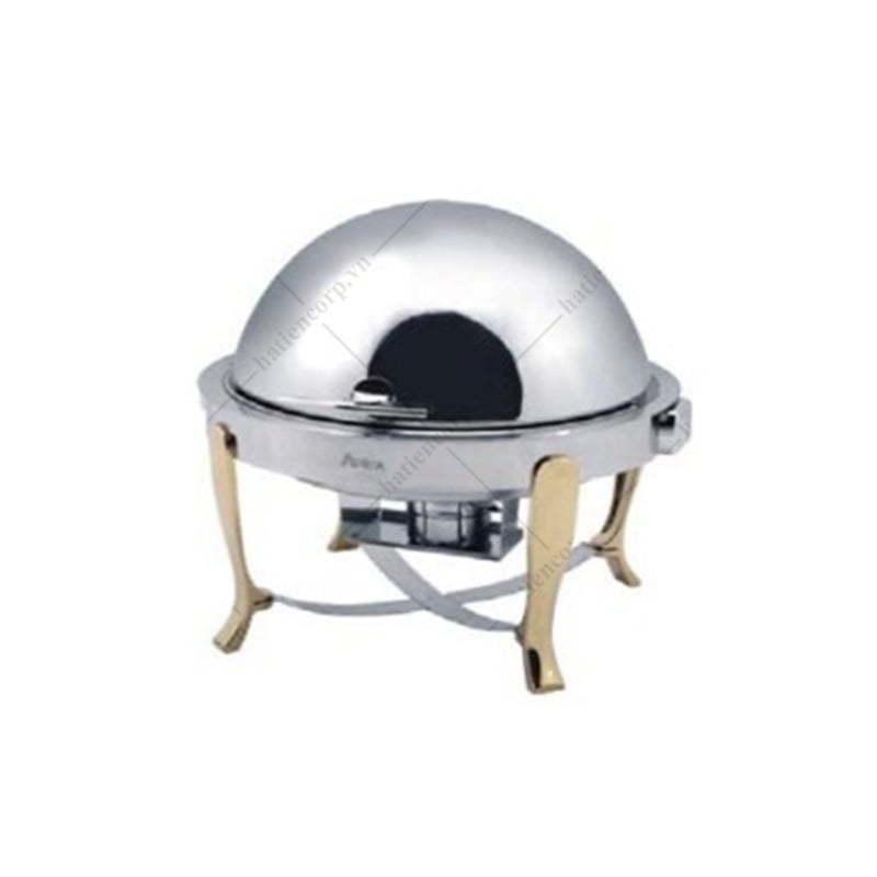 Lò hầm buffet tròn chân vàng