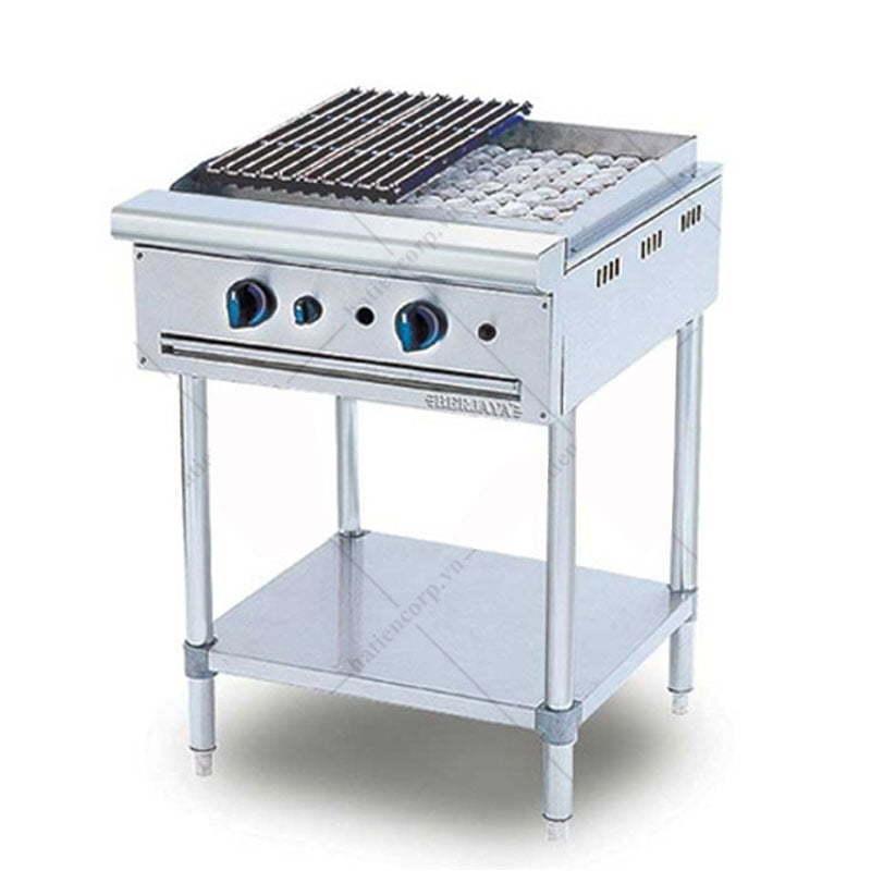 Bếp nướng than nhân tạo CRB 2BFS