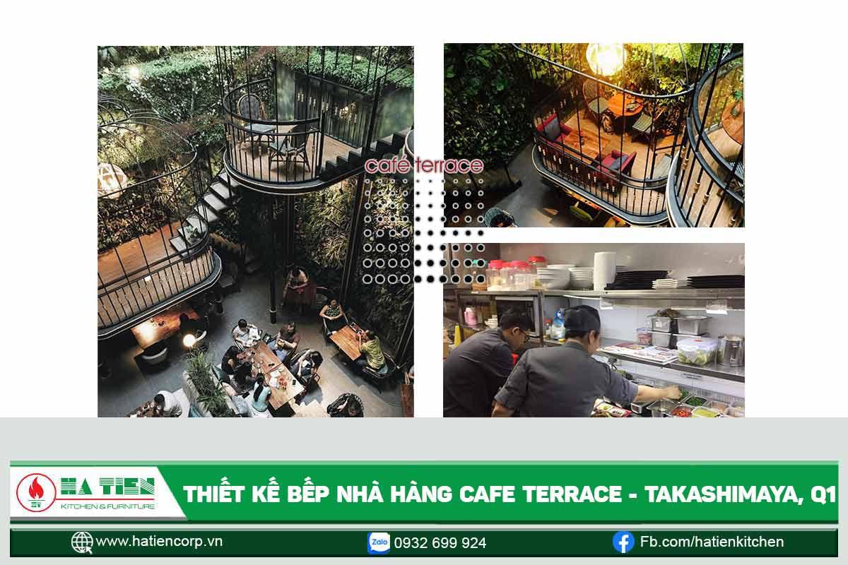 Nhà hàng nổi tiếng thế giới - Cafe Terrace Saigon Center