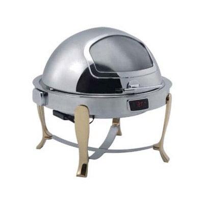 Nồi giữ nhiệt buffet tròn chân vàng (nắp PC) - DKS51161