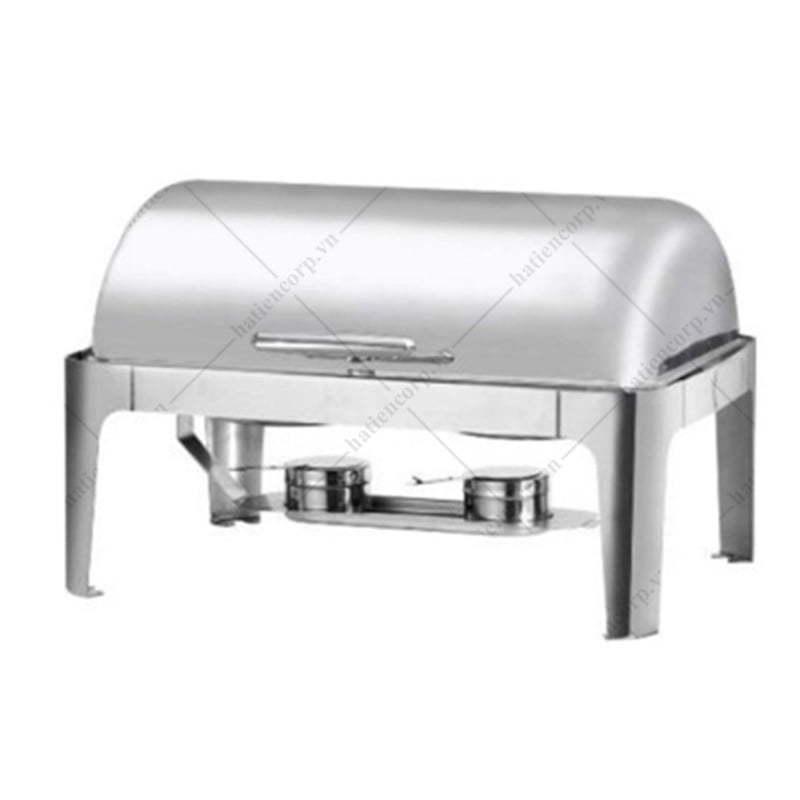 Nồi hâm nóng buffet chữ nhật chân inox AT61363-2