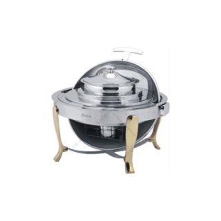 Nồi hâm soup tròn chân vàng ( nắp PC ) -DKS51181