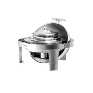 Nồi hâm soup tròn chân inox (nắp PC) - LHKS51383