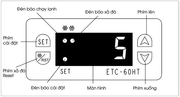 hướng dẫn sử dụng bàn đông, bàn mát hoshizaki
