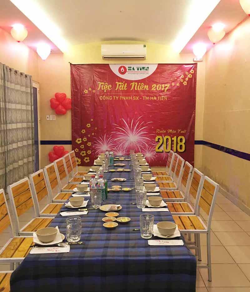 Tiệc tất niên công ty Hà Tiên 1
