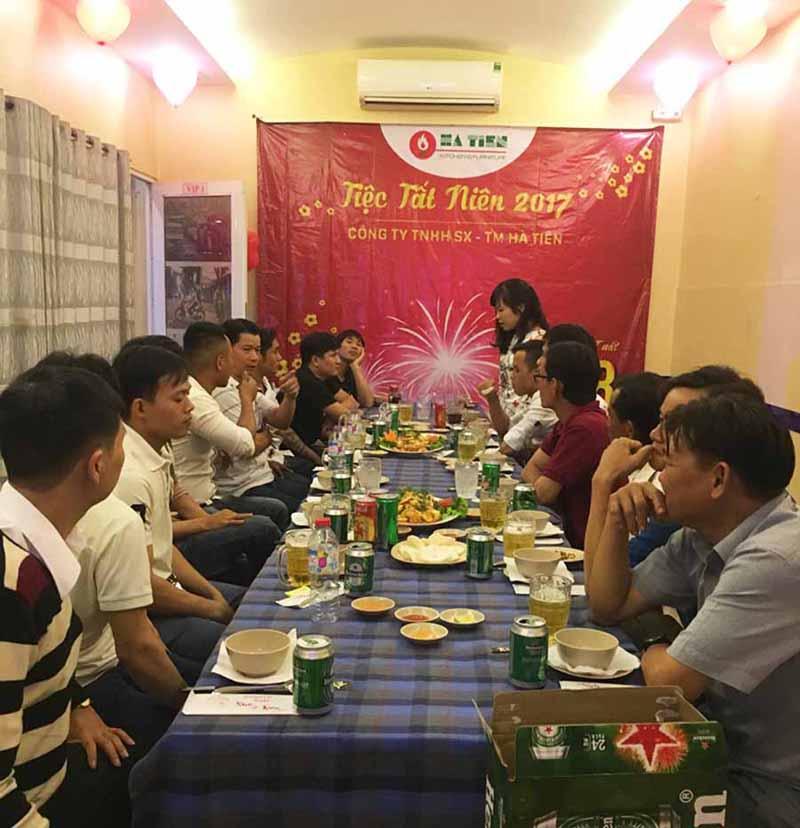 Tiệc tất niên công ty Hà Tiên 3a