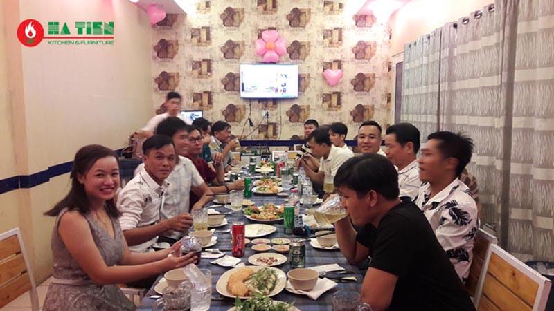 Tiệc tất niên công ty Hà Tiên 4a