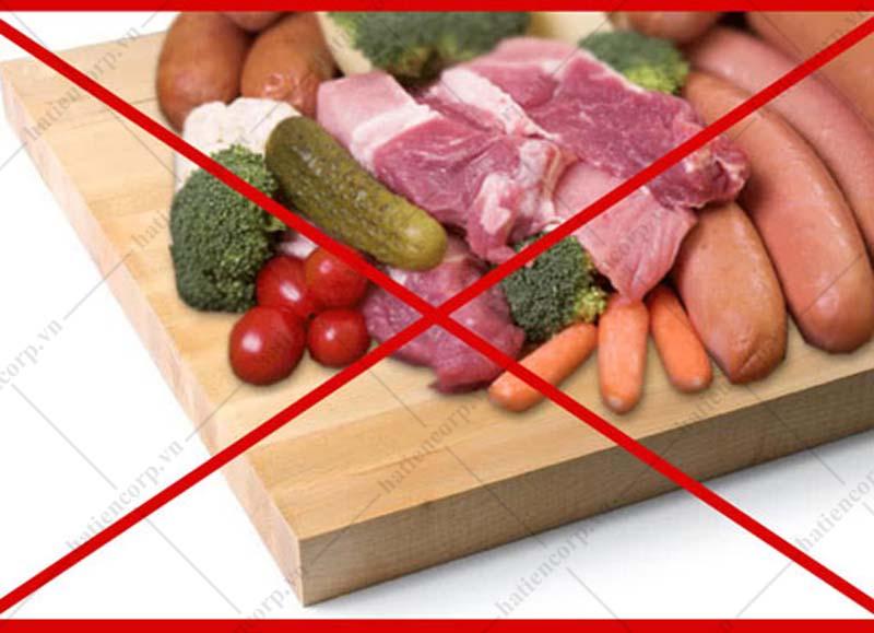 thực phẩm không an toàn