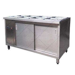 Quầy giữ nóng thức ăn 8 khay