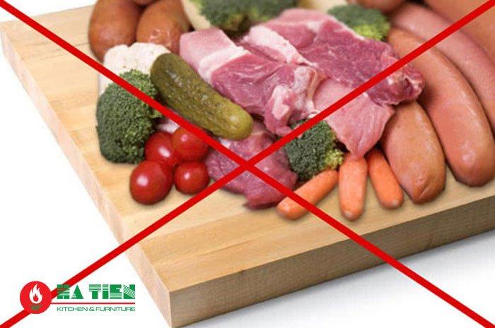 lây nhiễm chéo thực phẩm