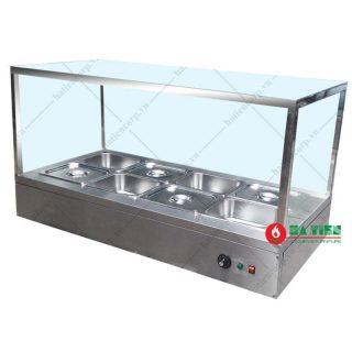 Quầy giữ nóng thức ăn 8 khay để bàn