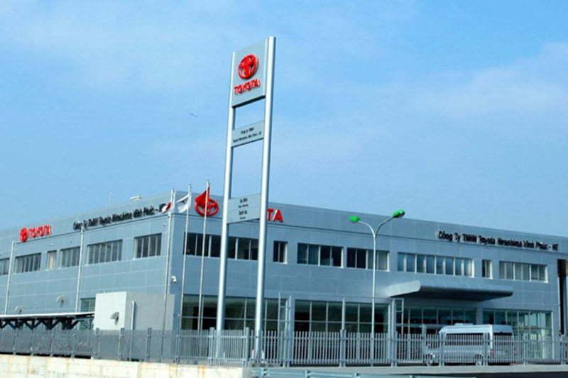 bếp ăn công nghiệp Toyota Vĩnh Phúc