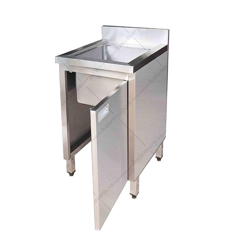 Bồn rửa chén inox 304 1 ngăn (Chậu rửa bát đơn)