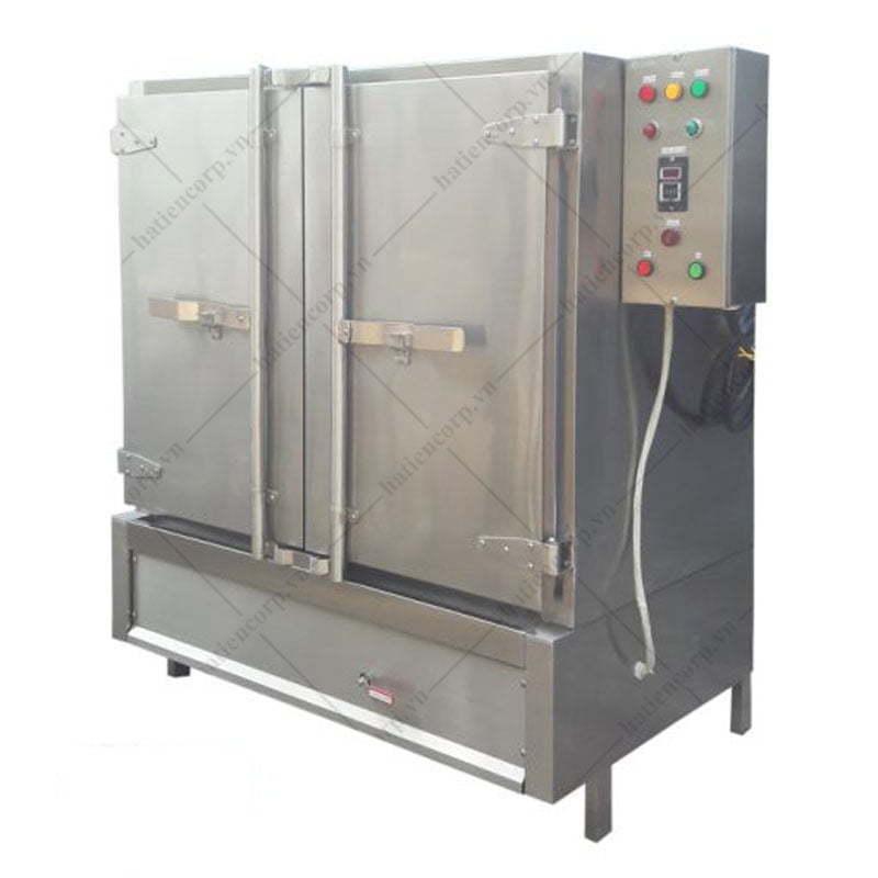 tủ cơm công nghiệp 100kg bằng điện