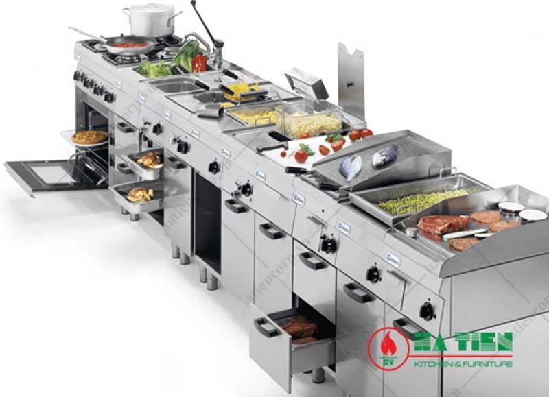 hệ thống bếp âu