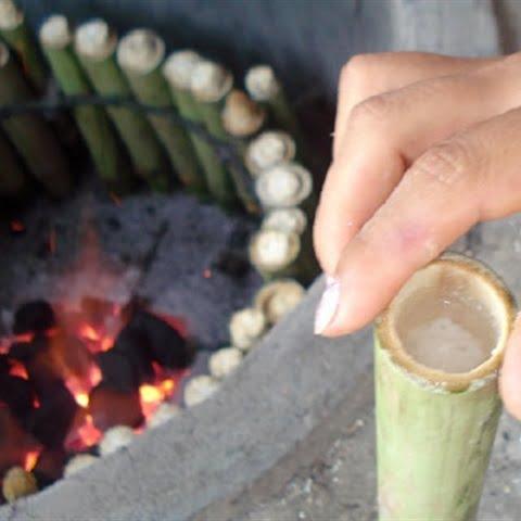 Hướng dẫn cách nấu cơm Lam ngon chuẩn vị Tây Bắc