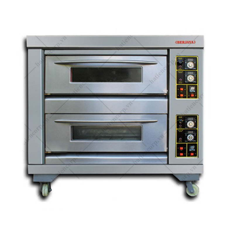 Lò nướng bánh bằng gas 2 tầng
