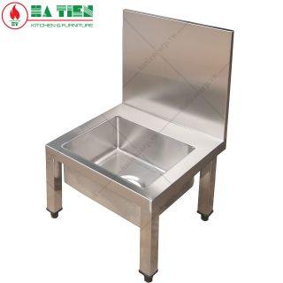 Bồn chậu rửa inox 304 cao cấp, dụng cụ không rỉ sét, siêu bền