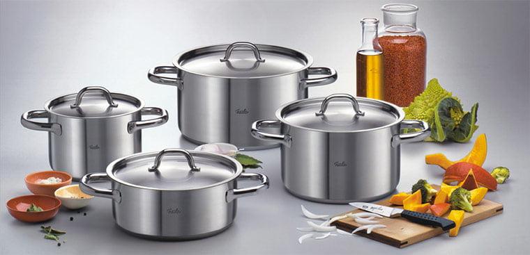 cách chọn dụng cụ nấu phù hợp với bếp từ công nghiệp