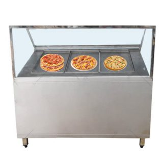 Quầy Chuẩn Bị Salad - Pizza