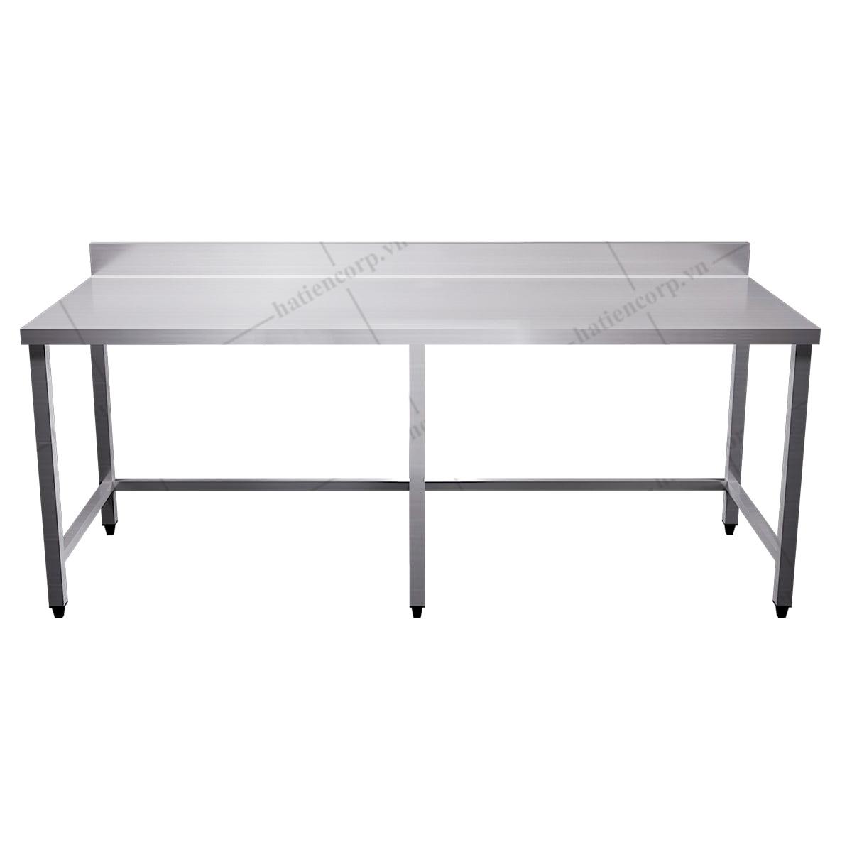 Bàn inox công nghiệp, bàn inox 304 dài 1m8