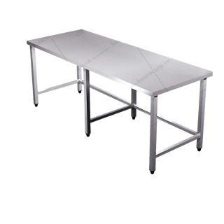 Bàn inox 1800x600x850mm - Bàn inox 304 cao cấp, chất lượng cao