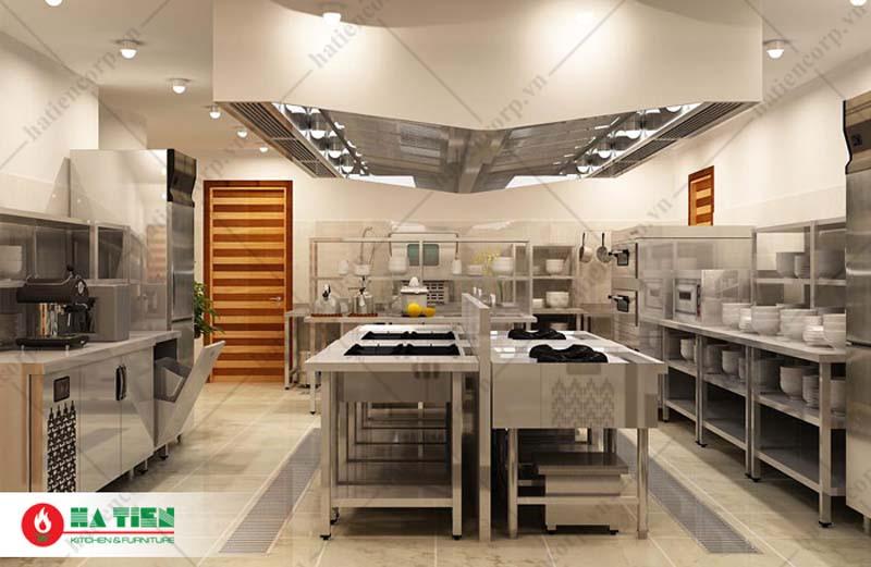 Bàn inox 3 tầng 2000x600x850/950mm có thành - Bàn inox 304 cao cấp, chất lượng cao