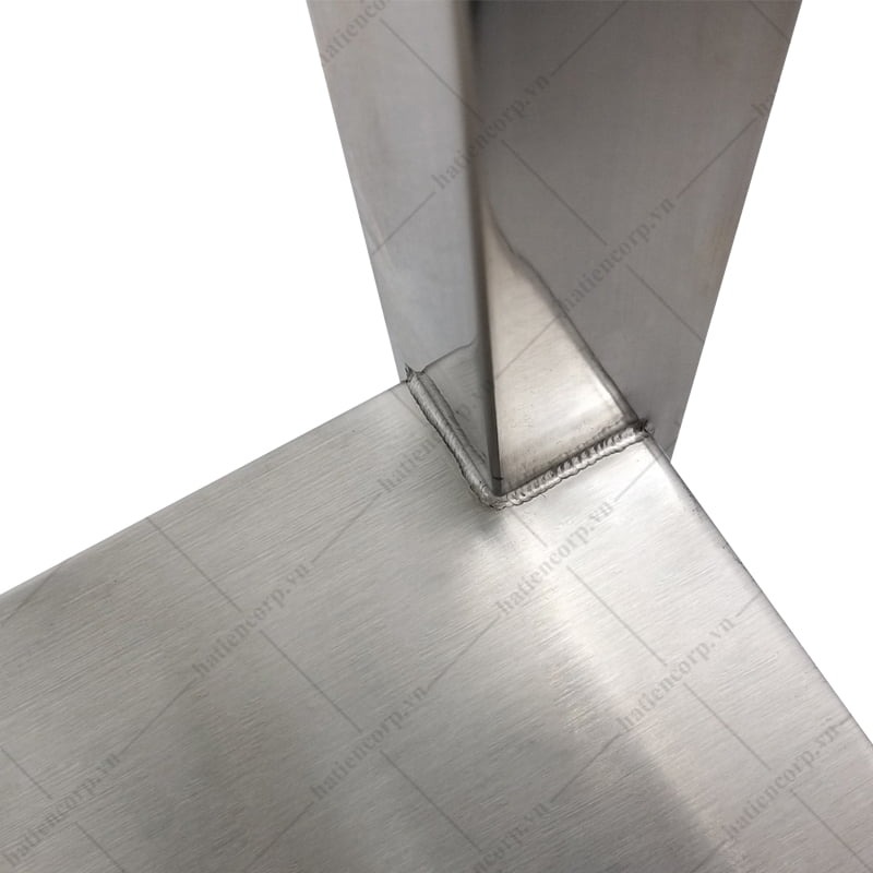 Bàn inox 2 tầng 1800x750x850mm kệ phẳng - Bàn inox 304 cao cấp, chất lượng cao