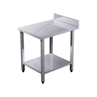 Bàn inox 2 tầng 400x600x850/950mm có thành - Bàn inox 2 tầng có thành 304 cao cấp, chất lượng cao