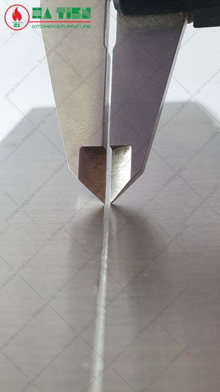 Vết hàn inox dùng công nghệ Robot hàn laser