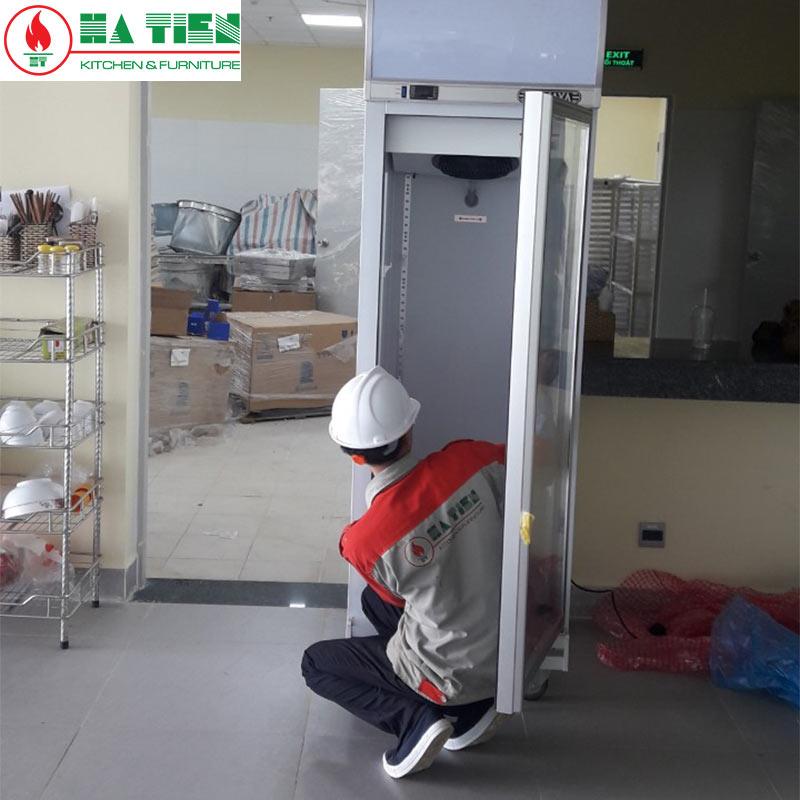 Lắp đặt tủ lạnh trưng bày