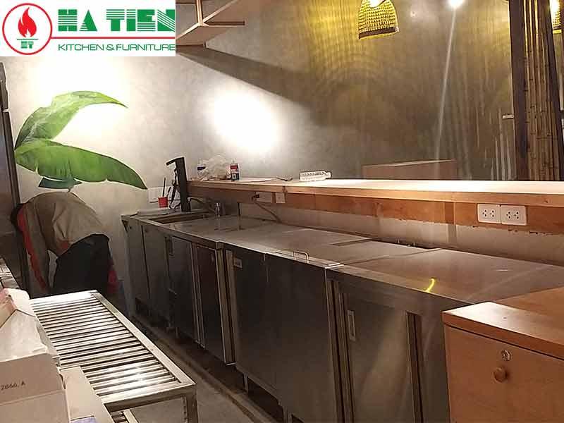 bếp nhà hàng saigon garden