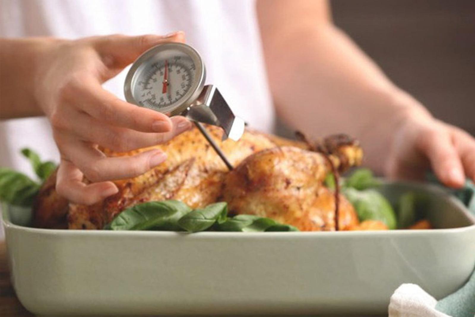 haccp: kiểm tra nhiệt độ thực phẩm