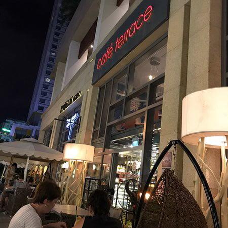 Quán cafe sang trọng - Cafe Terrace Nha Trang