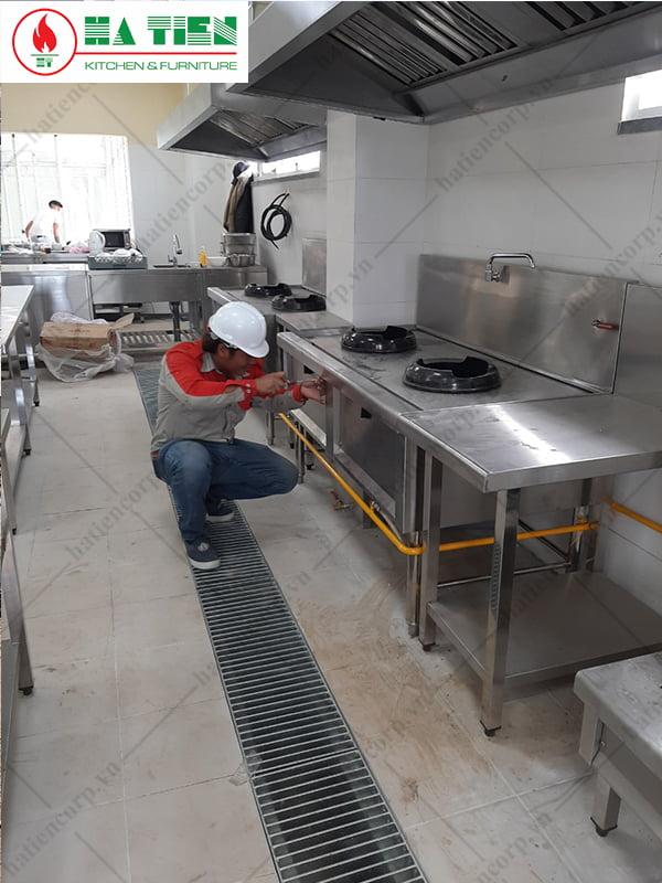 Hà Tiên thiết kế - Sản xuất - Thi công bếp