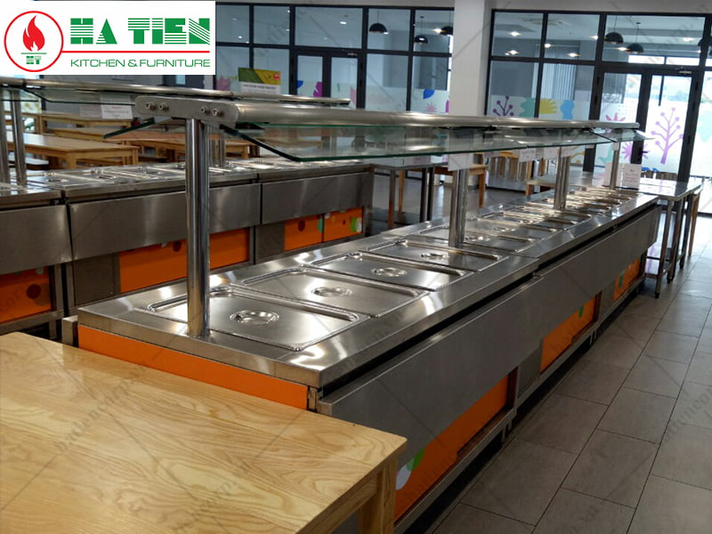 Khu vực phục vụ thức ăn - Trường Đại học Tôn Đức Thắng