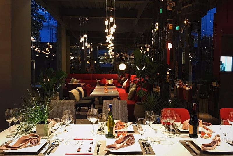 Cafe sang trọng - Cafe Terrace Giang Văn Minh