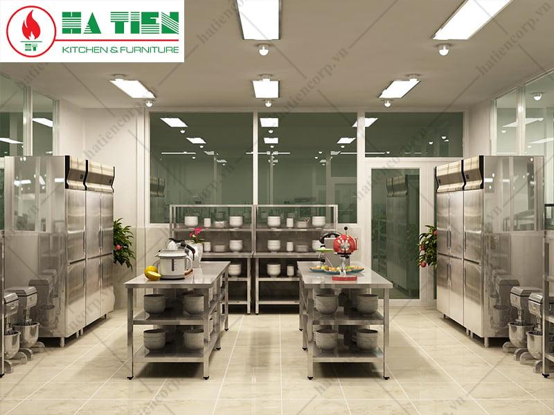 thiết bị bếp inox công nghiệp bếp Niso