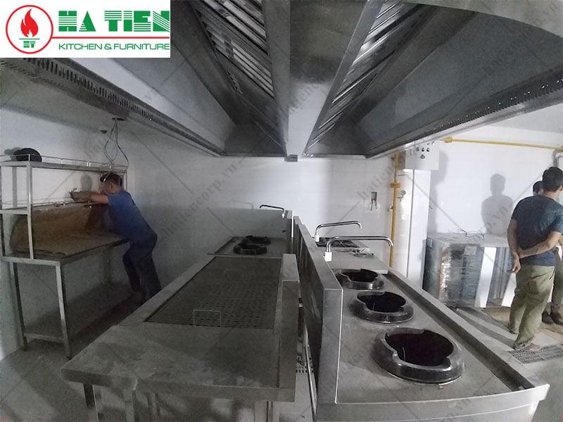 Hệ thống hút khói bếp nhà hàng Zumstar, Q. 3