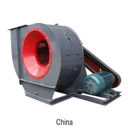 quạt hút khói công nghiệp Trung Quốc